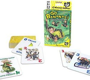 12 Minute Go Bananas Card game