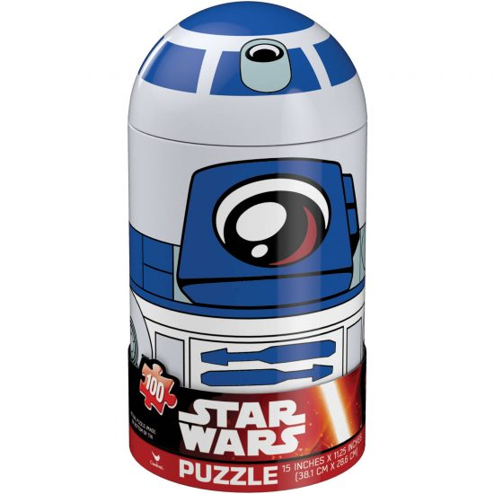 Star Wars R2-D2 Puzzle In Capsule Tin (100 pieces)
