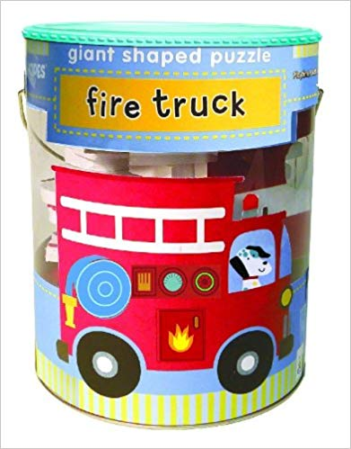 Soft Shapes Giant Shaped Puzzle - Fire Truck (24 Pieces)