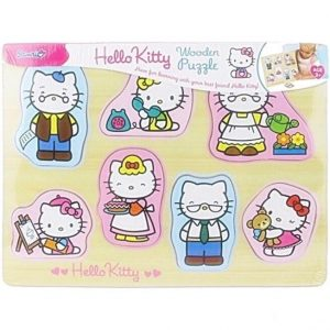 Hello Kitty Wooden Puzzle (7 Pieces)
