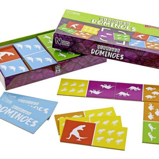 NHM Dinosaur Dominoes Card Game