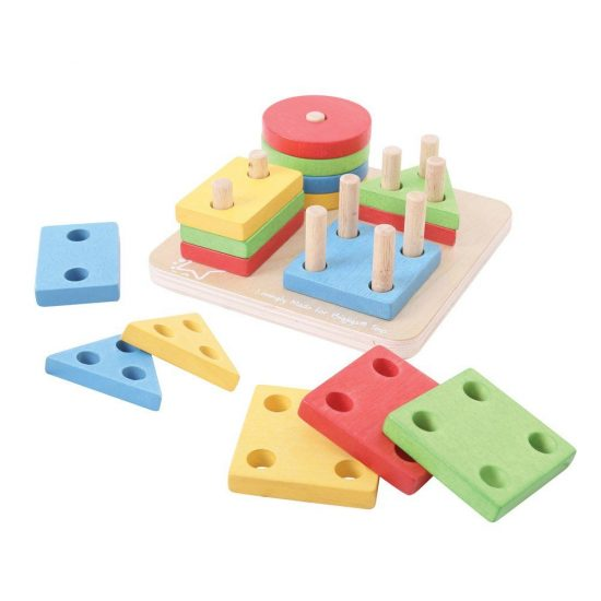 Four Shape Sorter