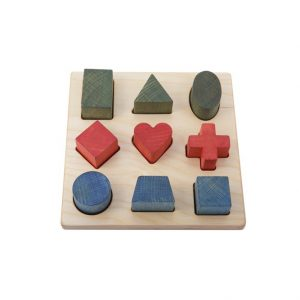 Wooden Geometry Shape Puzzle