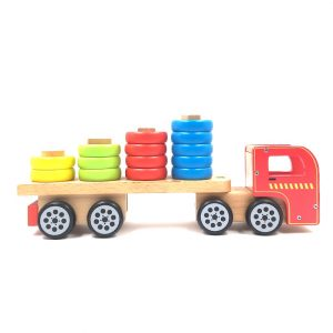Wooden Shapes Truck