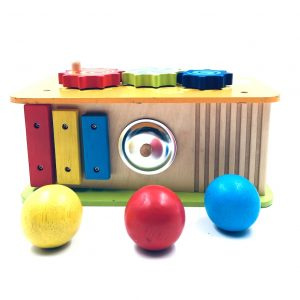 Wooden Toy Activity Car