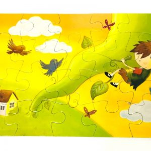 20-Piece Fairy Tales Stories and Jigsaw Set