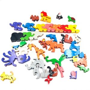 36-Piece Animal and Alphabets Puzzle