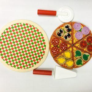 Wooden Pizza Set
