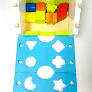 Wooden House Shape Puzzle