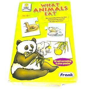 What Animals Eat Puzzle