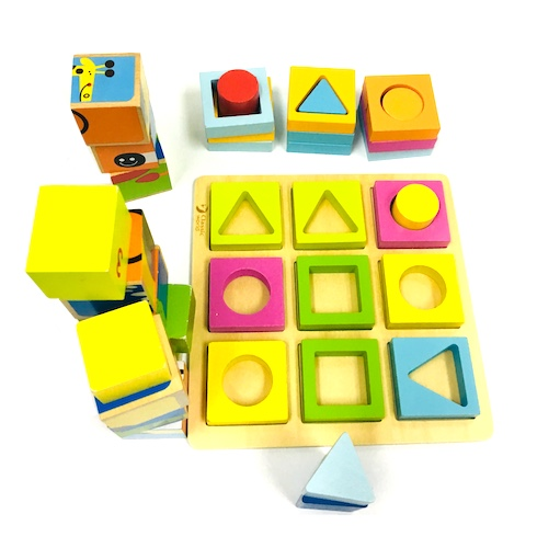 Wooden Shapes and Blocks